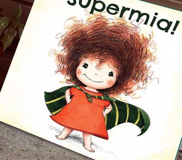 Cuento infantil SuperMia